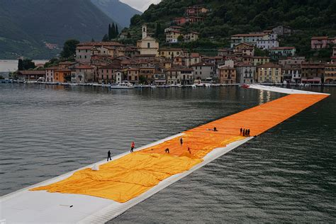 floating piers quot walk on water quot the floating piers installation christo