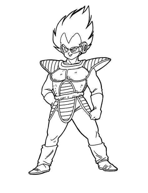 Free Printable Dragon Ball Z Coloring Pages For Kids Z Coloring Page