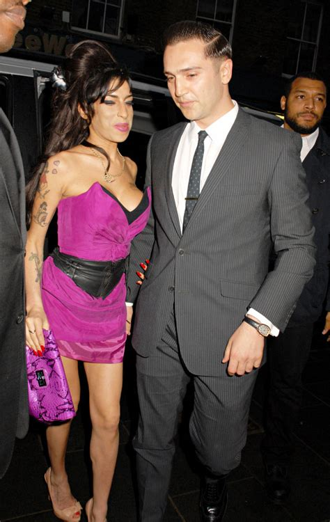 Winehouse Engaged by Winehouse S Boyfriend S Ex Opens Up On Affair