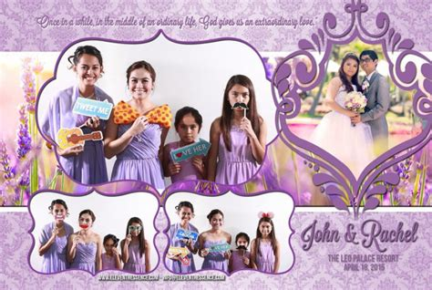 photo booth layout for baptism photo booth template for christening birthday wedding or
