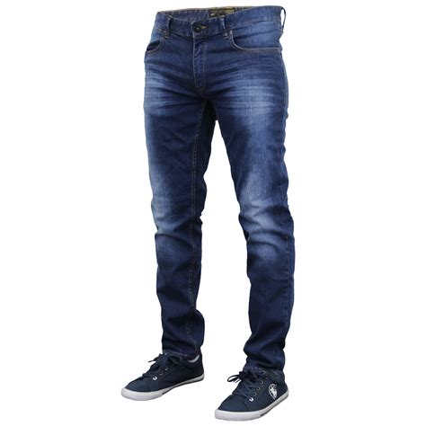 S Slim Pant mens denim crosshatch slim fit leg