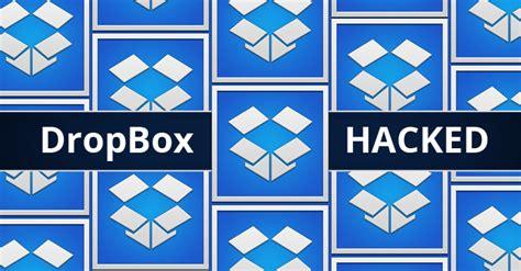 dropbox breach dropbox hacked more than 68 million account details