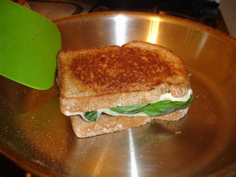Wich Of The Week Truffled Grilled Cheese With Asparagus by Wich Of The Week Honey Basil Grilled Cheese Popsugar Food