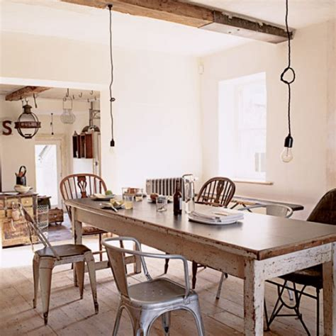 shabby chic dining room take a tour around a salvage home housetohome co uk