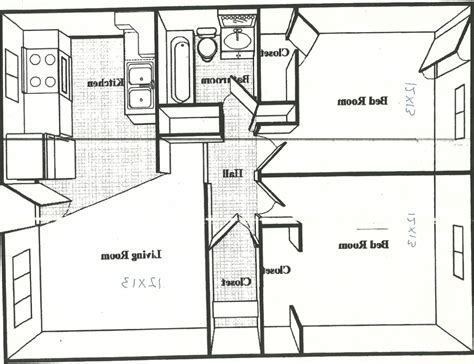 600 square foot apartment floor plan 500 sq foot house plans