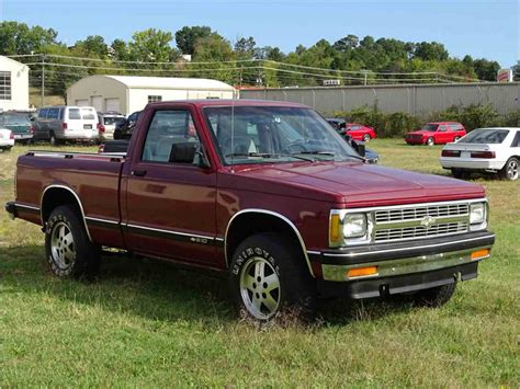 how to work on cars 1992 chevrolet s10 spare parts catalogs 1992 chevrolet s10 tahoe for sale classiccars com cc 1027986