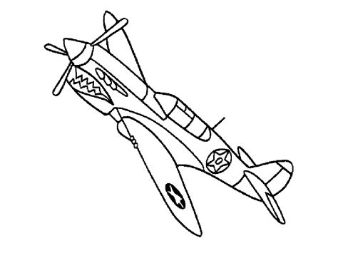 fighter airplane jet color pictures print coloring pages