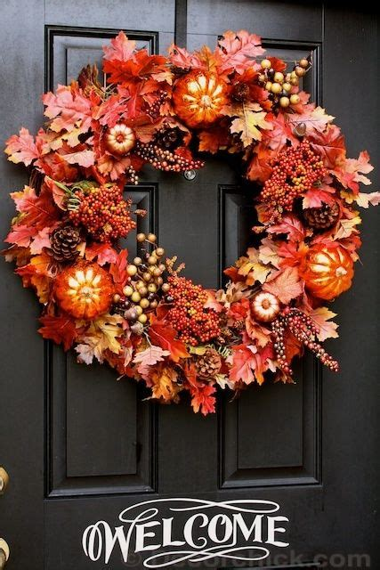 sew crafty angel fall wreaths diy