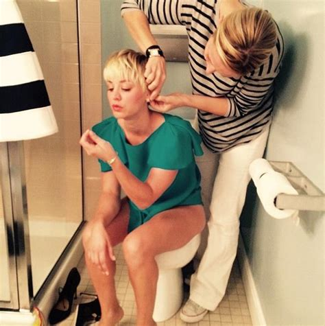 Kaley Cuoco Shower by Kaley Cuoco Shares Toilet Photo On Aircraft This