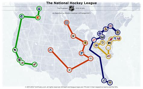 nhl map nhl realignment map archives the home of the nhl realignment project the home of the nhl