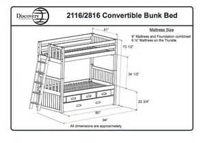 Bunk Bed Measurements Bunk Bed Specifications Dimensions New House Ideas World And Beds
