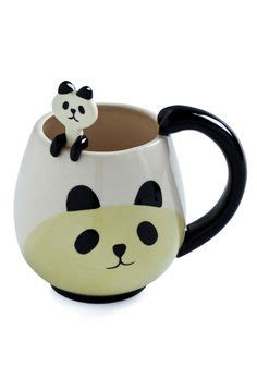 Panda Tea Spoon free shipping porcelain enamel mugs peacock coffee cup tea