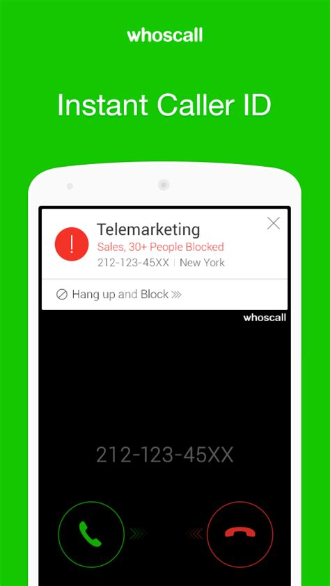 android caller id whoscall caller id block android apps on play