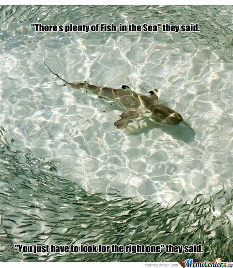 Fish In The Sea Meme - plenty of fish advertisement f memes best collection of