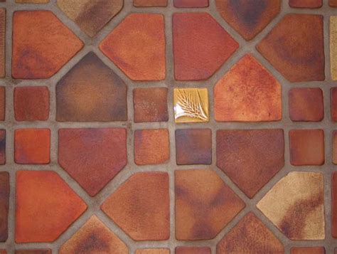 Arts And Crafts Floor L by Santa Fe Design Studio Reproduction Tile