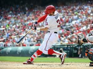 harper swing bryce harper swings patriotic bat as nats pound giants 9