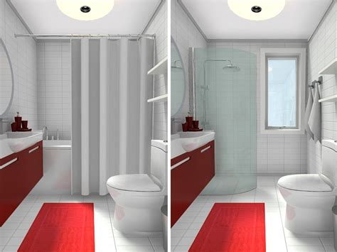 small shower ideas for small bathroom 10 small bathroom ideas that work roomsketcher