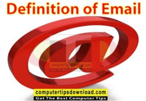 email definition definition of email
