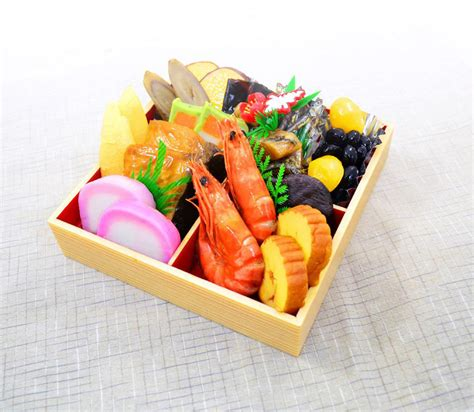 new year food package lucky food charming decorations visiting deities