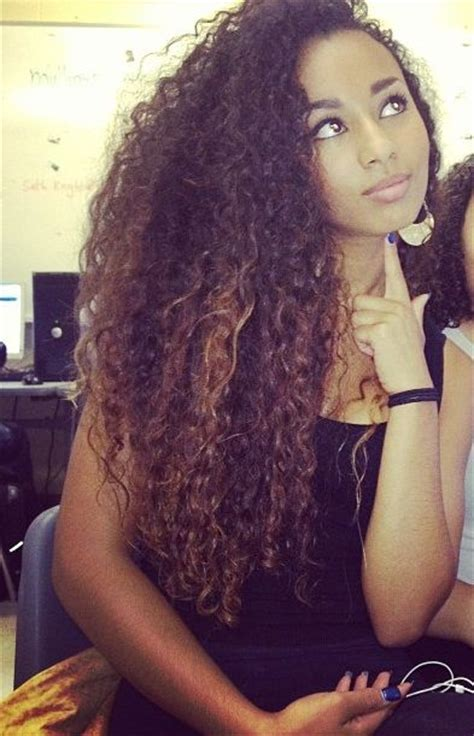 natural hairstyles for long straight hair natural hair curly big and beautiful on pinterest