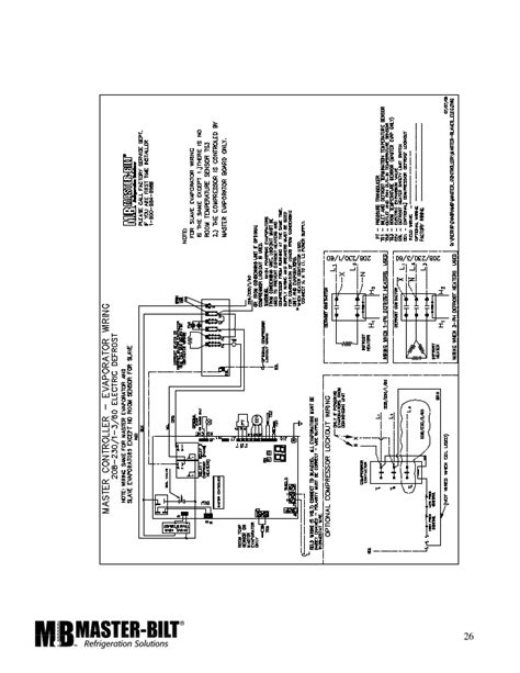 heatcraft freezer wiring diagram bohn freezer evaporator