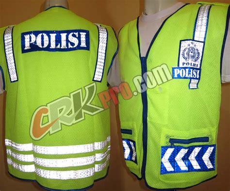 Ready Stok Seragam Pdl Loreng Us penjahit konveksi rompi polisi safety reflektor murah