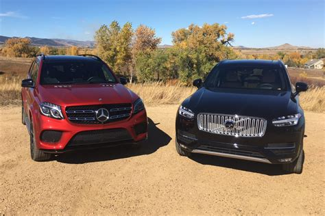 Volvo Vs Mercedes 2017 Mercedes Gls Vs Volvo Xc90 T6 Mashup Review
