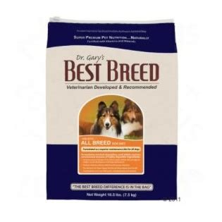best breed food dr gary s best breed food all breed food product reviews and price comparison