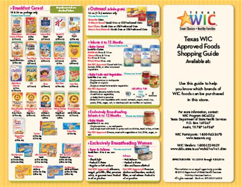 whole grains wic florida department of state health services wic infants