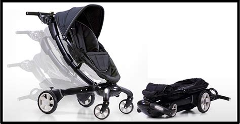 Origami Power Folding Stroller Silver - welcome to mamakiddies