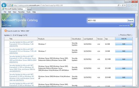 Update Microsoft microsoft net framework security update released ghacks tech news