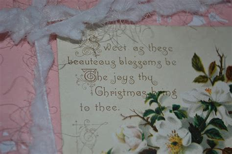 french blue and peachy pink shabby chic christmas gift wrapping ideas and vintage christmas