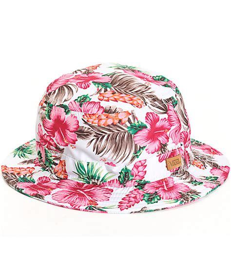 Floral Hat vans brohola hawaiian floral hat
