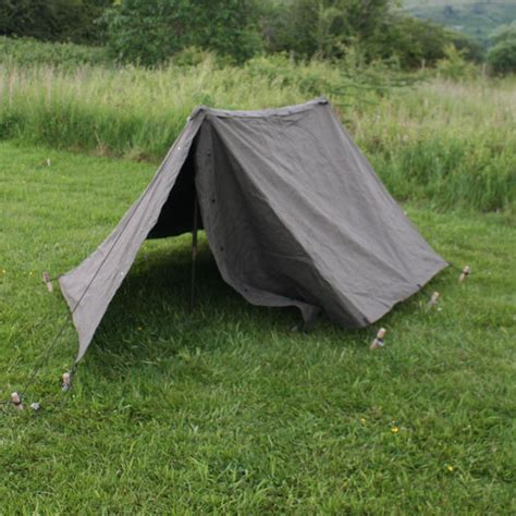 puppy tent 1943 pup tent 2 x us army ww2 shelter halves with buttons