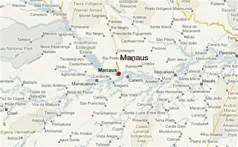 map of manaus manaus location guide