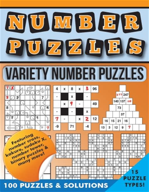 variety puzzle books for adults sudoku kakuro futoshiki calcudoku 400 number puzzles volume 1 400 variety number puzzles books puzzle books buy puzzle books