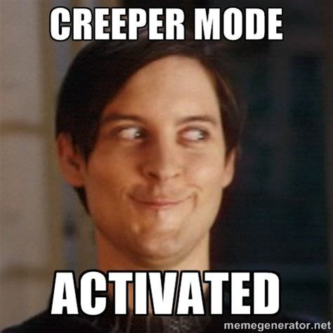 Creeper Meme - creeper guy google search funny stuff pinterest