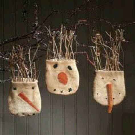 1000 ideas about primitive christmas ornaments on