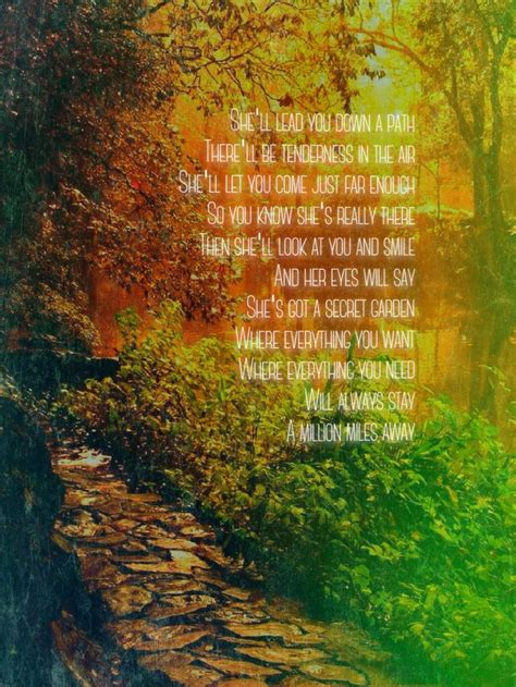 Bruce Springsteen Secret Garden Lyrics by Best 25 Secret Garden Quotes Ideas On