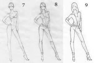 How to draw a fashion figure final fashion