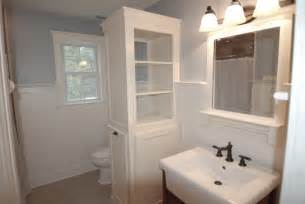 Diy Bathroom Remodel Ideas linen cabinet clothes hamper pt 3 youtube