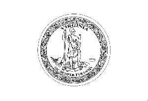 virginia coloring sheet coloring pages