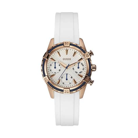 jual guess w0562l1 guess chronograph rubber