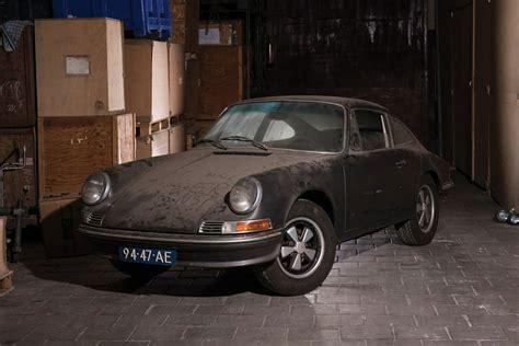 Barn Find by Porsche 912 Barn Find Uncrate