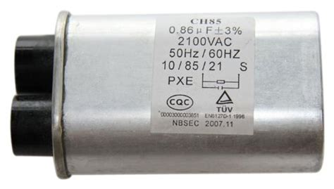microwave capacitor test oven parts accessories ge wb27x10240 capacitor for microwave