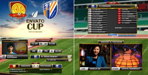 after effects templates free soccer 18 great broadcast packages for after effects desiznworld