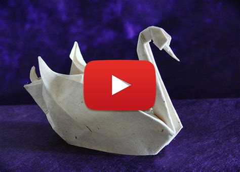 How To Swan Origami - how to make an origami swan 2016