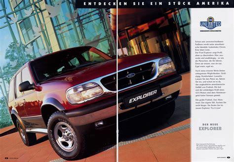 1994 1997 ford explorer brochure auto brochures