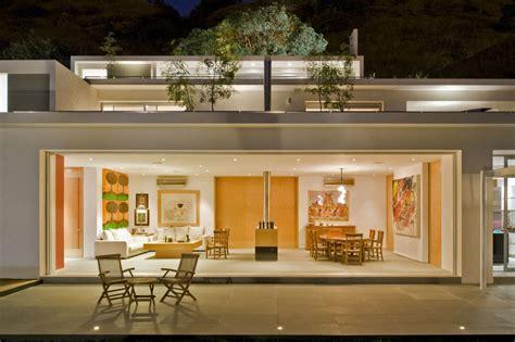 Open Floor House Plans With Loft glass wall bifold doors interior design ideas
