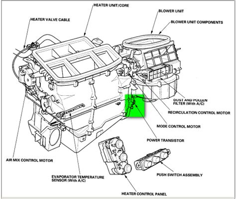 resistor box location 93 honda civic sol fuse box diagram get free image